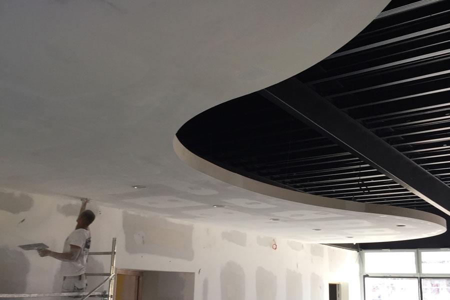 pose plafond acoustique Lyon