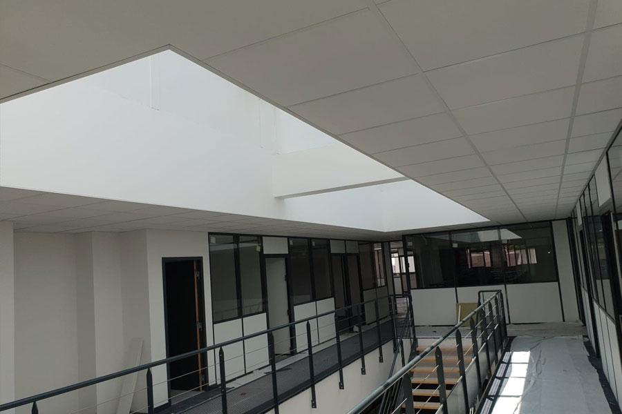 Pose plafond suspendu Lyon