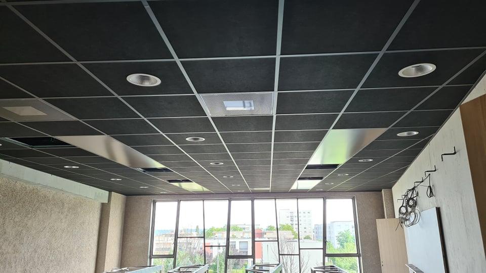 pose-faux-plafond-acoustique